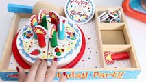 Miraculous Wooden Birthday Party Playset Melissa Doug Toys Happy Birthday Funny Birthday Cards Online Alyptdamsfinfo
