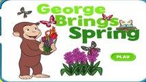 Любопытный Джордж Игры Джордж приносит весну PBS Детские игры