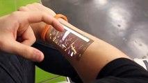 Cicret Bracelet: A tablet on your arm!