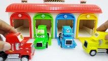 Disney Pixar Mack Truck and Disney Pixar Cars with Disney Car Garage Toys