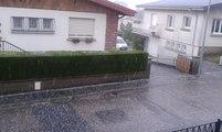 Vosges : l'orage de grêle qui s'est abattu à Epinal en...