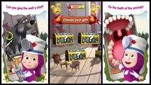 Masha and The Bear Animal Hospital Game l Masha Doctor Fun for Baby & Kids Gameplay Movie
