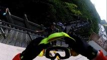 Adrénaline - VTT : La caméra embarqué d'Antoni Viloni sur le Red Bull Sky Gate Mountain 2016