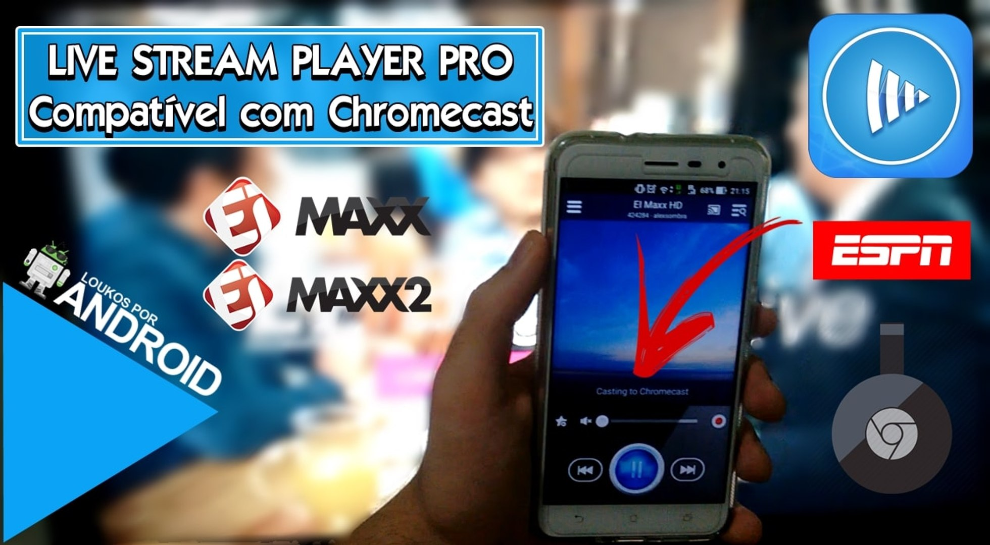 Live Stream Player Pro 3 7 - Chromecast