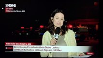 Repórter da Globo News AGREDIDA AO VIVO