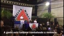 Eduardo Bolsonaro, filho de Jair Bolsonaro, teve seu carro arrombado por bandidos!!!