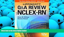 Best PDF  Lippincott Q A Review for NCLEX-RN (Lippioncott s Review for Nclex-Rn) Diane Billings
