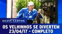 Os Velhinhos Se Divertem   Programa Silvio Santos (20/04/17)
