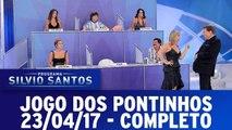 Jogo dos Pontinhos | Programa Silvio Santos (23/04/17)