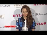 Aimee Carrero NYLON & BCBGeneration Young Hollywood Party Red Carpet