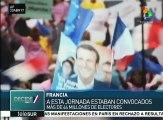 Francia: Emmanuel Macron logra 23.75% y Marine Le Pen 21.53% de votos
