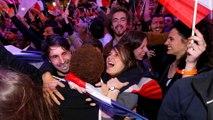 Γαλλία: Ενθουσιασμός στους υποστηρικτές του Εμανουέλ Μακρόν