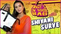 SHIVANI SURVE aka VIVIDHA Handbag SECRET REVEALED | What's in your bag | Jaana Na Dil Se Door