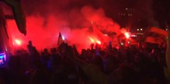 Kızılay Meydanı'nda Coşkulu Kutlama