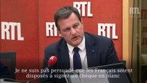 """Emmanuel Macron ? """"C'est monsieur bling-bling"""", juge Louis Aliot sur RTL"""