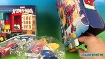 Lego Duplo Spider-man Aventure en Camion-Araignée Atelier Moto-Araignée