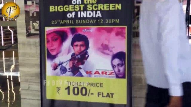 Simi Garewal, Rishi Kapoor & Subhash Ghai At Re Premiere Of The Cult Classic Film 'Karz'