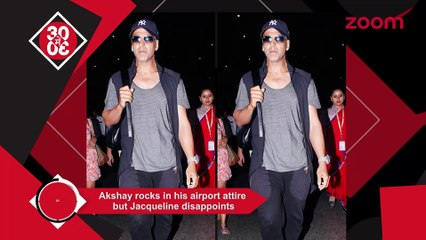 Jacqueline's Airport Look Gets A Thumbs Down,Akshay Rocks,Ajay Needs A Break From Rohit