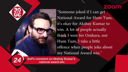 Saif Stands By Akshay On National Awards,Shahid-Mira Snapped Post A Lunch Date