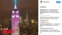 Blake Shelton réagit à l'image de Gwen Stefani sur l'Empire State Building