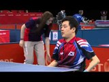 Table Tennis - GER vs KOR - Men's Singles - Class 1 Group B - London 2012 Paralympic Games