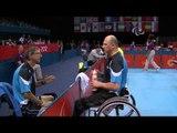 Table Tennis - CHN vs CZE - Men's Singles - Class 10 Quarterfinal 1 - London 2012 Paralympic Games