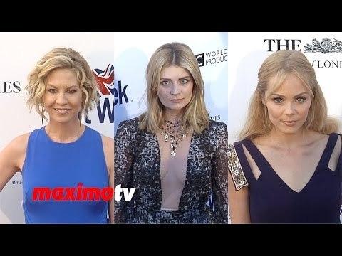 Mischa Barton, Laura Vandervoort, Seal, Jenna Elfman 8th Annual BritWeek Launch Party
