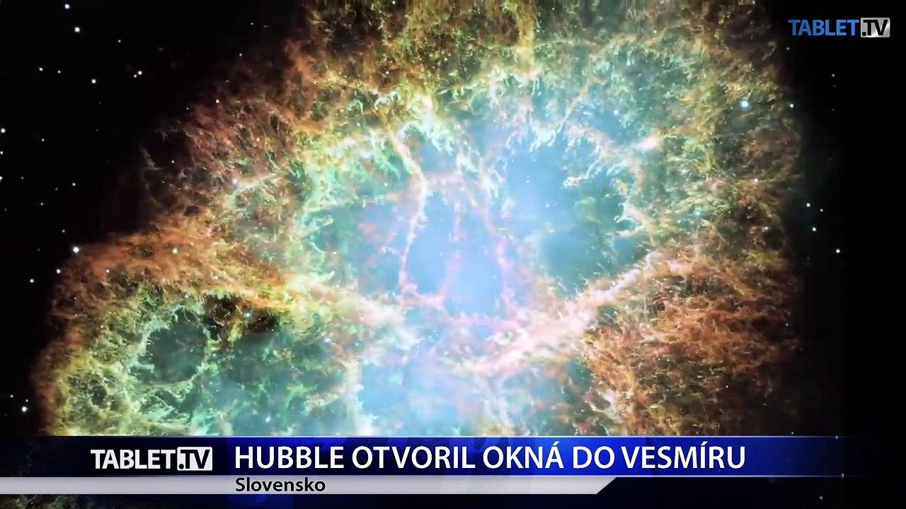 Hubbleov ďalekohľad - vo vesmíre pracuje už 27 rokov