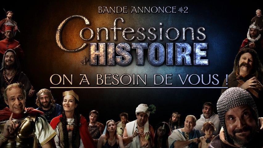 Présentation du Projet Confessions d'Histoire - Soutenez-Nous !
