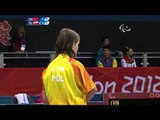 Table Tennis - CHN vs POL - Women's Singles - Class 9 Group A - London 2012 Paralympic Games