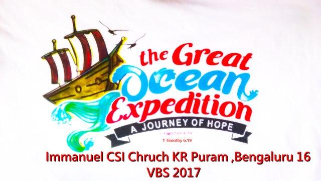 Immanuel CSI Church Kr Puram Bangalore VBS 2017 Skit