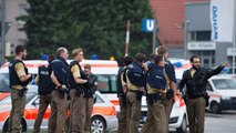[DO NOY PUBLISH] Munich mall shooting: Video shows police response to 'shooting rampage' in Germany