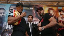Anthony Joshua vows to make Eric Molina 'look like a novice' in IBF heavyweight title fight