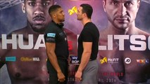 Anthony Joshua says beating Wladimir Klitschko could make him a boxing 'legend'