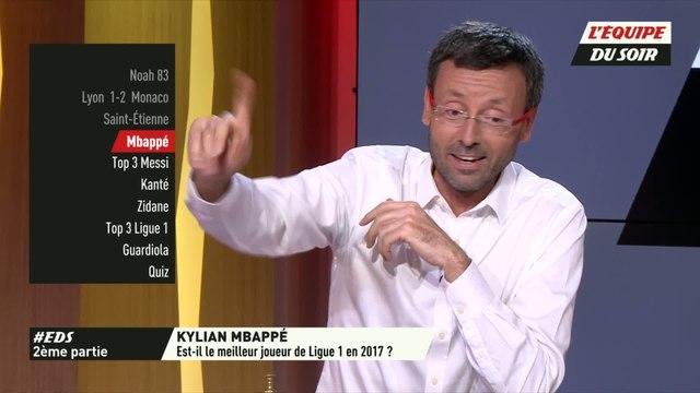 Foot - EDS - Extrait : Kylian Mbappé est-il le meilleur joueur de Ligue 1 en 2017 ?
