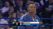 ChE judo Varsovie 2017, -78kg, Audrey Tcheuméo championne d'Europe