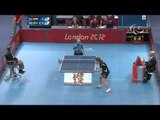 Table Tennis - EGY vs SWE - Women's Singles - Class 8 Group A - Qual. - London 2012 Paralympic Games