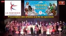 Présentation des artistes à la fin du spectacle TRÉSOR MAGIQUE -
