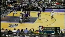 2001 NBA playoffs wcsf game 4 Los Angeles Lakers-Sacramento Kings part 2/2