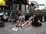 didgeridoo in Circular Quay, Sydney(norm, scott and vincent)