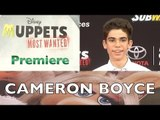 """Cameron Boyce """"Muppets Most Wanted"""" World Premiere ARRIVALS"""