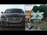 Mercedes & Jaguar on cheapest price in Chennai after floods