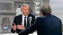 """""""C'est trop facile de tout rejeter sur François Fillon"""". Bruno Le Maire revient sur la défaite des Républicains"""