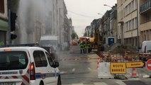 Fuite de gaz boulevard Louis Blanc
