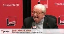 Jean-Marie Le Pen : «Marine a fait une campagne trop cool»