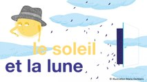 Jacques Haurogné chante Charles Trenet - Le soleil et la lune - chanson pour enfant