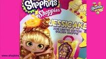 Кукла Шопкинс Лимитед Эдишн - Shoppies Джессикейк Голден Капкейк, Комик Кон