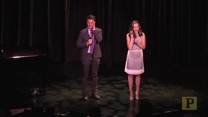 TDF Gala - Laura Osnes and Jonathan Groff