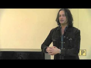 """Constantine Maroulis Sings Bob Marley's """"Redemption Song"""" in Performers4Peace Concert Rehearsal"""
