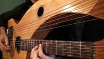 Hotel California (Eagles) - Harp Guitar Cover - Jamie Dupuis -
